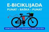 Četvrta E-biciklijada Punat-Baška-Punat starta 20. lipnja