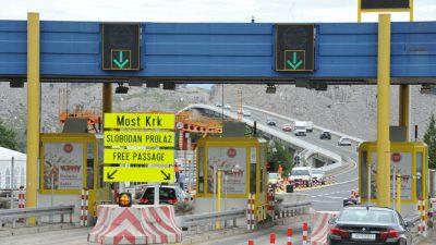 VIDEO Krčkim mostom ponovo u oba smjera