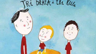 Tri brata i tri kule: Objavljena je i peta u nizu frankopanskih zvučnih slikovnica