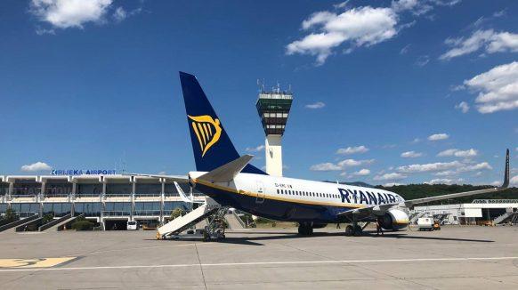 Na Krk stigao i prvi ovogodišnji let Ryanaira iz Londona