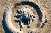 FOTO Mitska bića zauzela Rajsku plažu u Loparu i oduševila posjetitelje