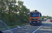 Prometna nesreća kod Omišlja izazvala kolonu, zastoj i kod Njivica
