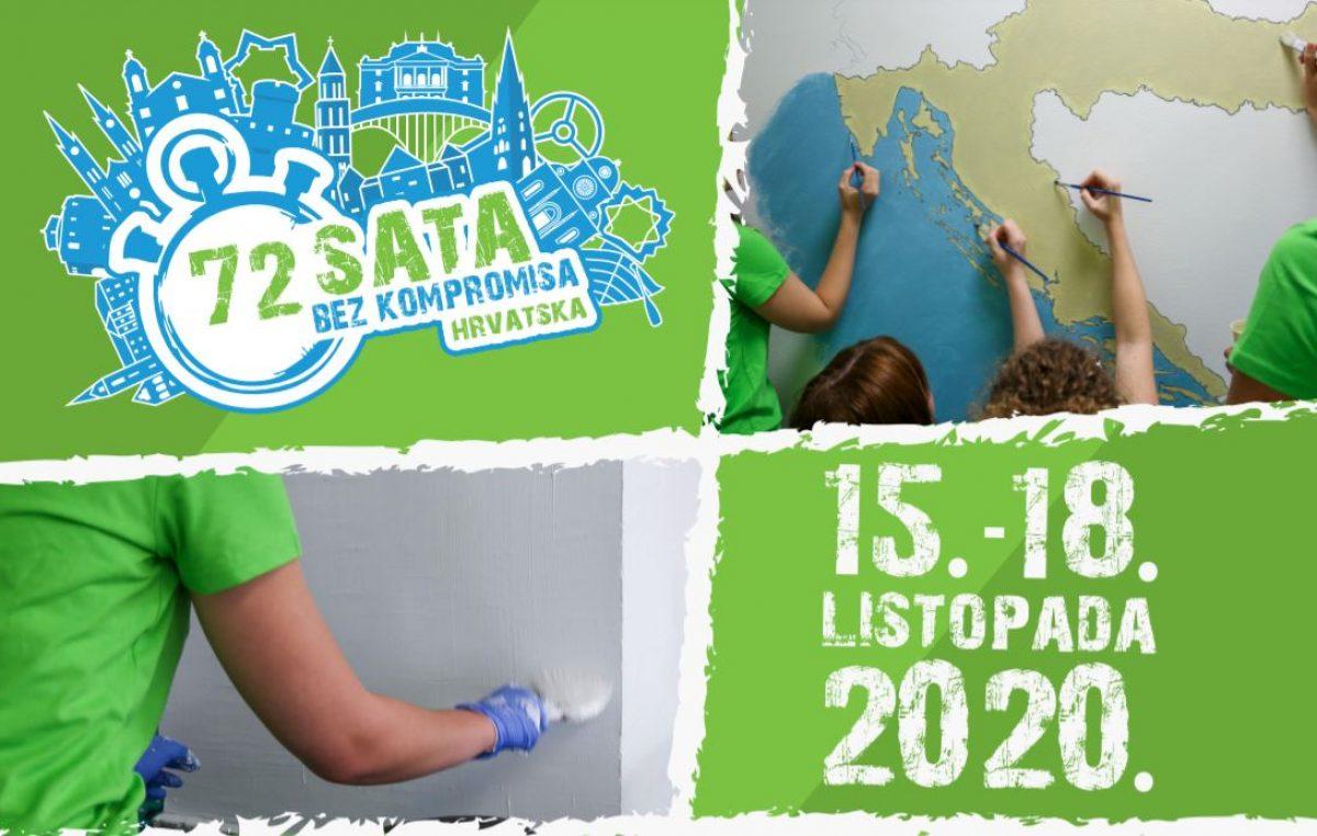 "19 akcija, 86 volontera: Danas starta veliki volonterski projekt ""72 sata bez kompromisa"""