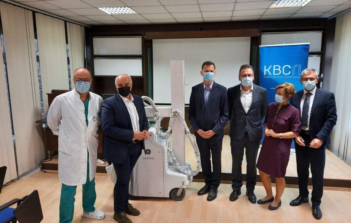 Tvrtka Jadranka d.d. donirala KBC-u Rijeka mobilni RTG uređaj u neto vrijednosti od 630 tisuća kuna