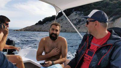 RAZGOVOR Mladen Milunović preplivao zahtjevnu dionicu Plavnik – Krk: Nadam se da će to postati tradicionalna humanitarna akcija