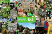 FOTO/VIDEO U velikoj akciji na Krku volonteri uređivali vrtiće i domove za starije i pomagali potrebitima