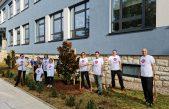 250 sati, 70 sadnica, 40 volontera: završena jesenska faza uređenja dvorišta puntarske škole