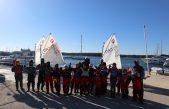 FOTO/VIDEO Bura im ne može ništa: Jedriličarski kamp u Punat doveo mališane iz cijele županije