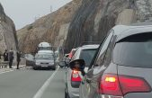 FOTO/VIDEO Prometna nesreća na Krčkom mostu jutros prekinula promet i uzrokovala velike zastoje