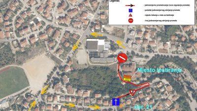 Od ponedjeljka drive-in testiranje u Krku i nova regulacija prometa u zoni oko Doma zdravlja