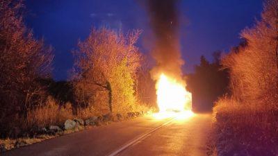 Dva požara jučer na Krku, Dinko Petrov: Održavajte dimnjake čistima, posljedice mogu biti teške