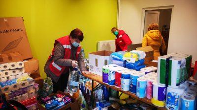 Centralno skladište Crvenog križa Krk preselilo u Malinsku