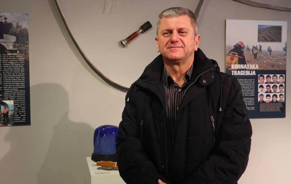 VIDEO INTERVIEW Dinko Petrov: U 20 godina na čelu JVP Grada Krka nisam izgubio ni jednog vatrogasca