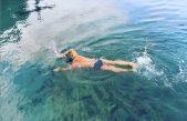 VIDEO Zimsko plivanje sve je popularnije: Svi na snijeg, Krčani u more