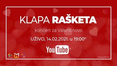 Klapa Rašketa i TZO Punat daruju vam koncert za Valentinovo