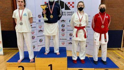 Prvenstvo Hrvatske u karateu: Stella Polonijo osvojila svoju prvu medalju u seniorskoj konkurenciji