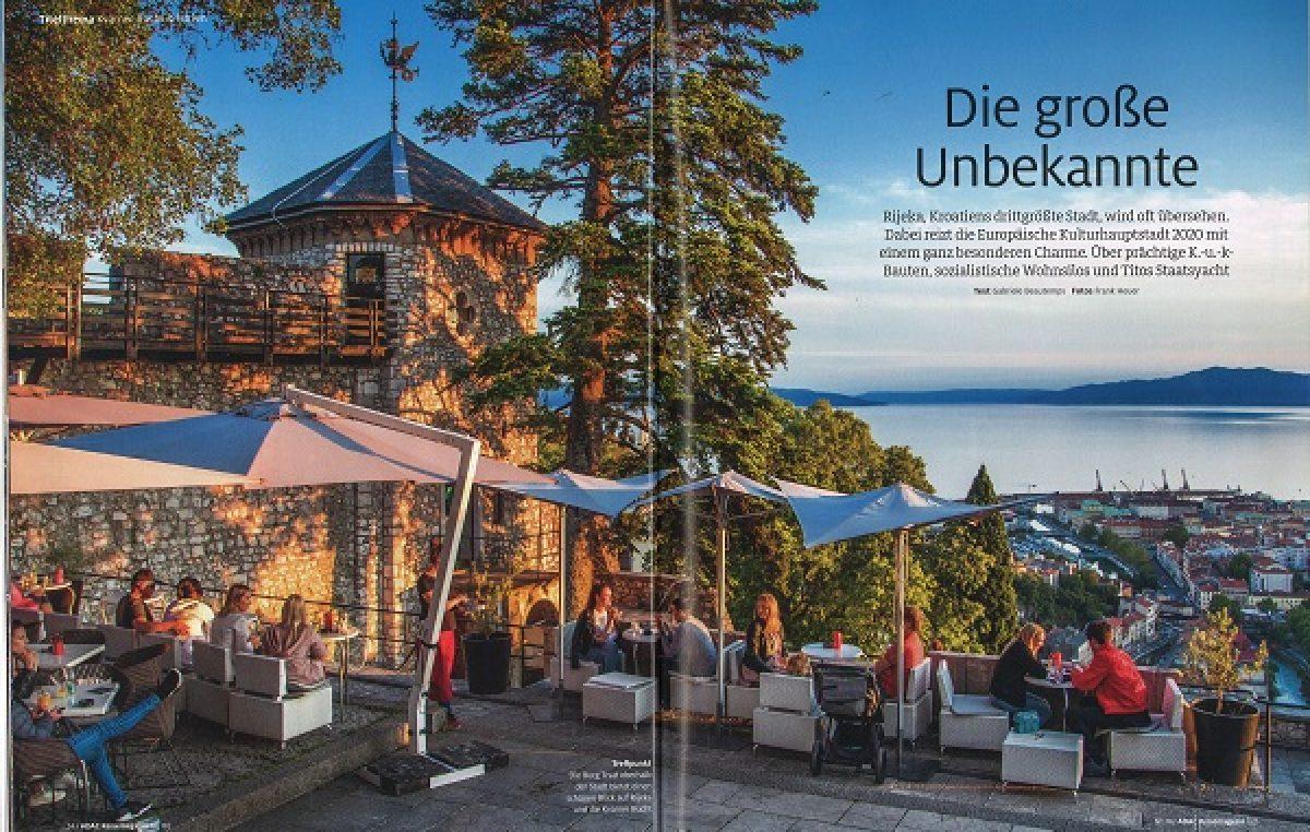 Odlična promocija: Poznati njemački ADAC Reisemagazin Kvarneru i Istri posvetio 59 stranica i naslovnicu