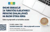 Online edukacije za turističke djelatnike i privatne iznajmljivače