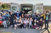 FOTO Krčani prikupili više od 2 tisuće kilograma hrane za stradale od potresa, mališani poslali preko 800 darova vršnjacima u Sisak
