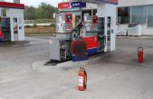 Prometna nezgoda na benzinskoj postaji kod Malinske, došlo je do istjecanja plina