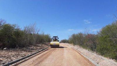 U tijeku su završni radovi na cesti do naselja Mali i Veli Kijec, trajat će dva tjedna