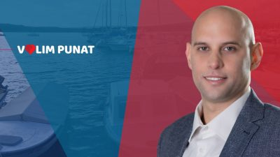 RAZGOVOR Daniel Strčić, kandidat za načelnika Općine Punat: Zaustavit ćemo zaduživanje naše djece i dizanje kredita u Puntu
