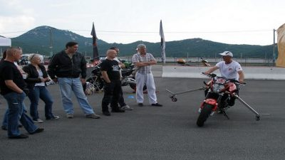 Prijavite se na akciju Motociklom u život: naučite sigurno voziti na grobničkoj pisti