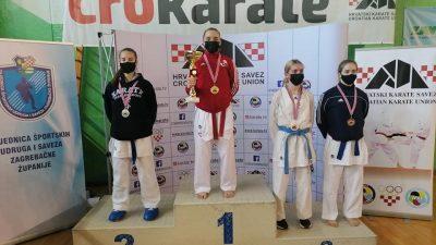 Fantastičan uspjeh: Mlada Puntarka Stella Polonijo zlatom u Samoboru osigurala Europsko prvenstvo u Finskoj