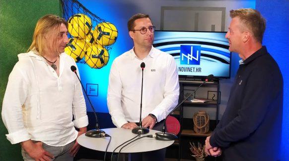VIDEO U studiju Plavo-zelene lige: Predsjednik OŠK Omišalj Nikola Turčić i sportski direktor Goran Gajzler