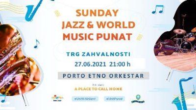 Sunday Jazz starta ove nedjelje iz Punta – a zatim će obići otok