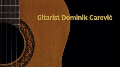 Svjetski dan glazbe u Brzacu: Gitaristički koncert Dominika Carevića