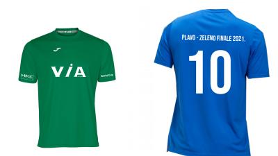 Evo dresova u kojima će istrčati nogometaši u Plavo-zelenom finalu