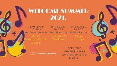 Summer Welcome koncerti u Malinskoj za početak vrućih ljetnih noći