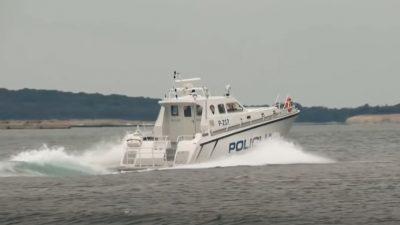 Policija spasila dvojicu jedriličara kod Prvića