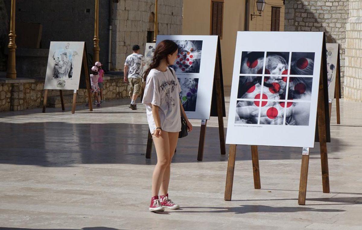 Krčki vizualni umjetnici Andrea Staničić i Igor Gržetić u premijernom izdanju projekta Kreativnog Krka