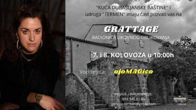 Otvorenje izložbe Jadranke Lacković i Grattage likovna radionica u Kući dubašljanske baštine
