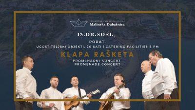 Koncerti, glazba i glagoljica u Malinskoj