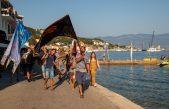 FOTO/VIDEO Ribarski dan u Baški i ove godine u znaku tradicionalne povorke ribara i atraktivnog izvlačenja mreže