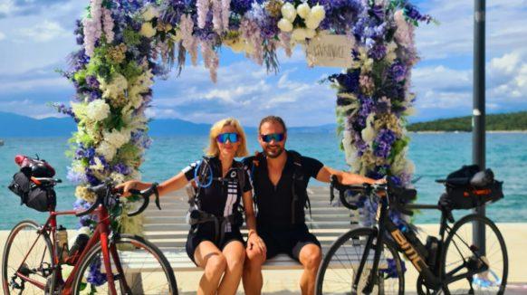 Prije 40 godina rođena je u hotelskoj sobi u Njivicama, a sada se vratila – i to biciklirajući 600 kilometara