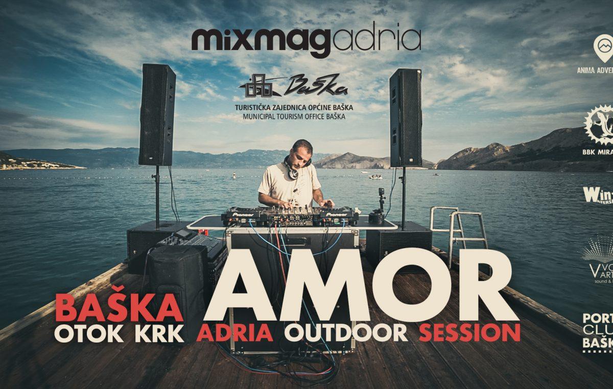 NAJAVA Adria Outdoor Session iz Baške uz Amorovu glazbu