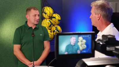 VIDEO Trener Krka Kraljić u emisiji Plavo-zelena liga o suradnji s OŠK-om i Vihorom
