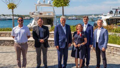 FOTO/VIDEO Župan Komadina posjetio Marinu Punat: U planu su nova zapošljavanja i investicijski ciklus vrijedan 160 milijuna kuna