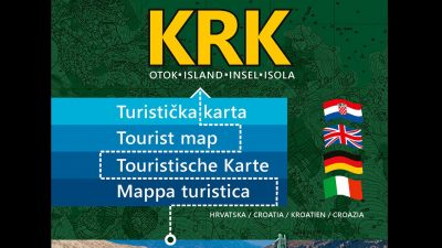 Otok Krk dobio novu turističku kartu, uskoro i u online verziji