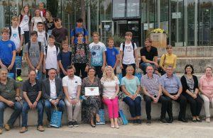 Peace Field projekt: Mali Krčani i Istrijani skupa odali počast davno preminulom bašćanskom učitelju