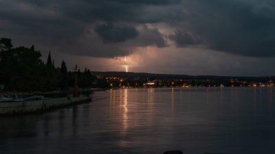 Omišalj, Krk i Malinska među najkišovitijim mjestima u Hrvatskoj, Rab rekorder jučerašnjeg dana