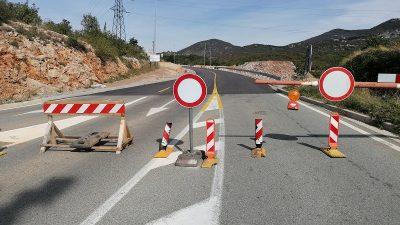 Cesta Meja – Oštrovica zatvorena do sredine studenog