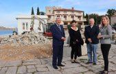 Započeli 3,5 milijuna kuna vrijedni radovi rekonstrukcije rive u Omišlju