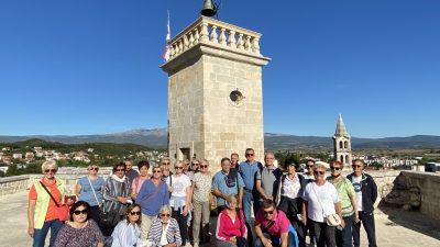 PUTOPIS Na Visu s članovima Udruge antifašističkih boraca i antifašista otoka Krka